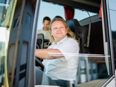 Unser Chauffeur Roland Busreisen Fasching (c) Fasching, die mosbachers